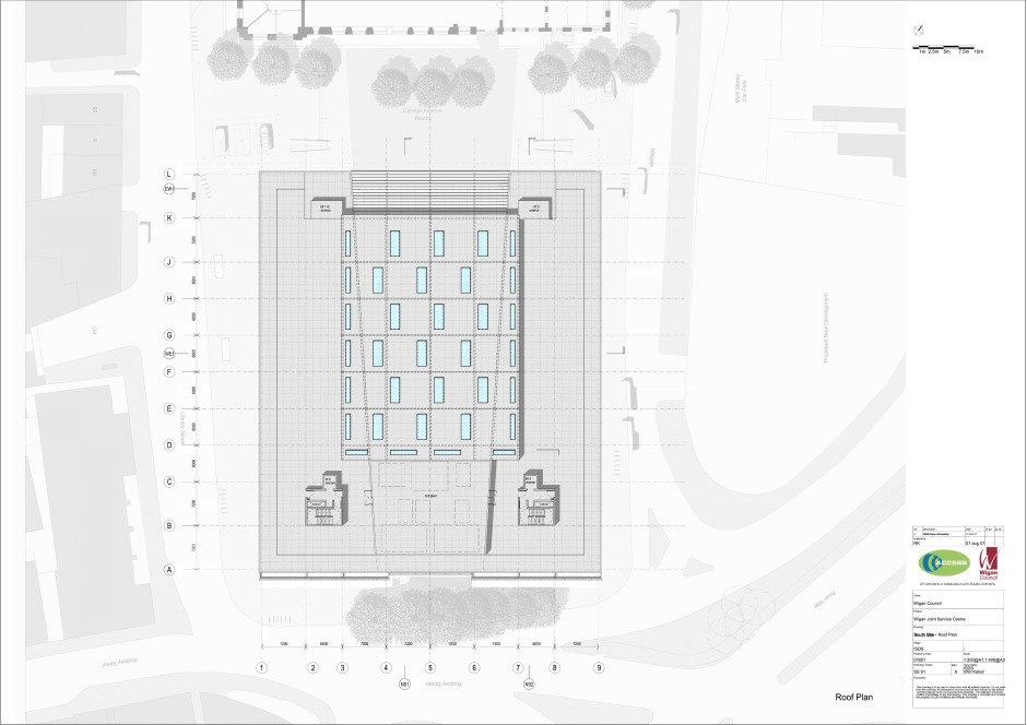 SS91-South Site-Roof Plan