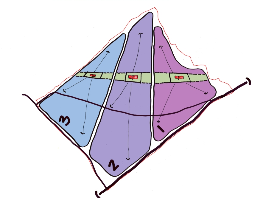 513 SAS Option 3 - Zoning and Civic Hearts Diagram
