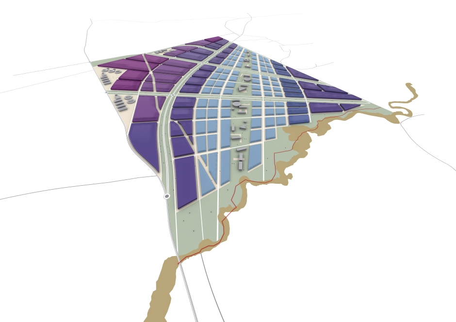 513 SAS Masterplan-3d Render Option 3