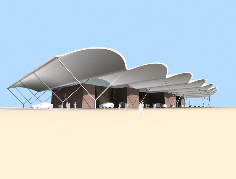 LCE_N-AfricanAirport_Desert_External View 01