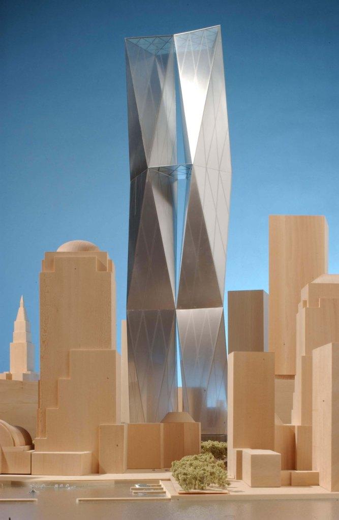 Model of Twinned Tower 2